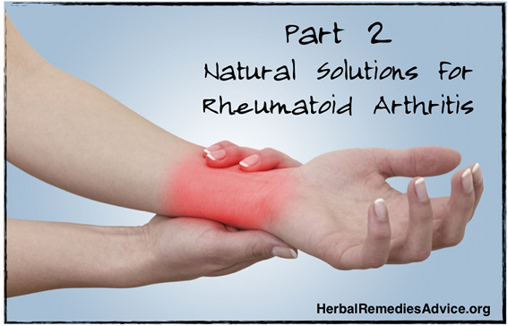Natural Rheumatoid Arthritis Treatment