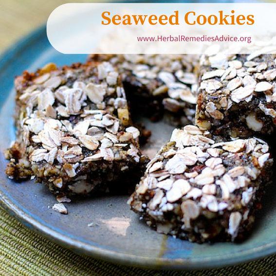 Seaweed cookies