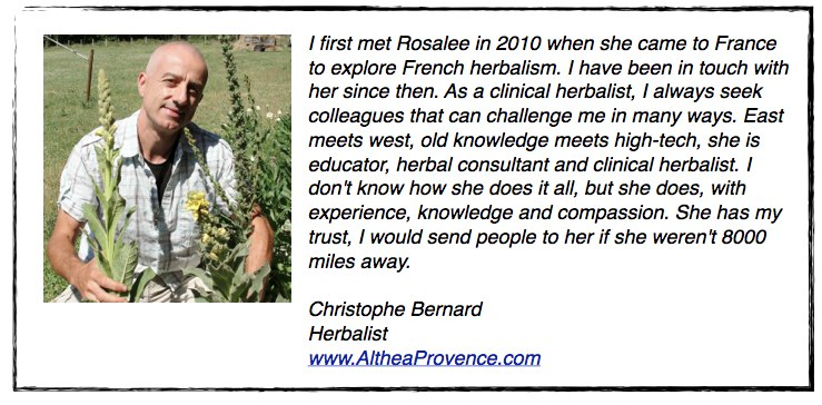 Testimonial from Christophe