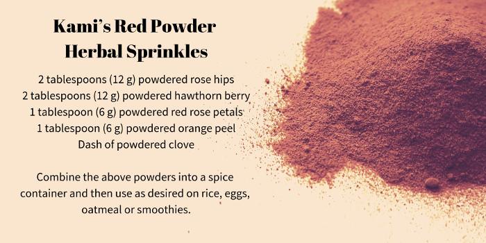 herbal sprinkles