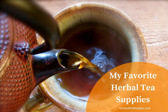 Herbal Tea Supplies