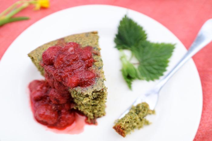 nettle cake recipe