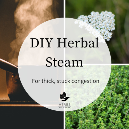 traditional herbal steam