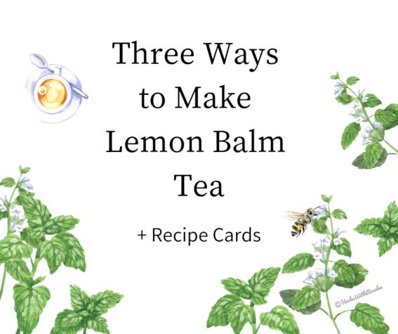 lemon balm recipes
