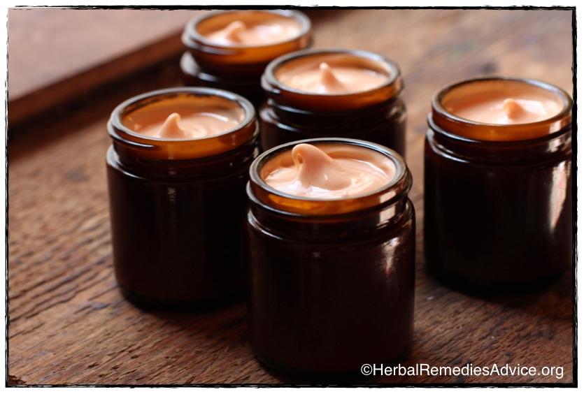 Medicinal herbal creams