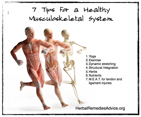 7 tips for a healthy musculoskeletal system