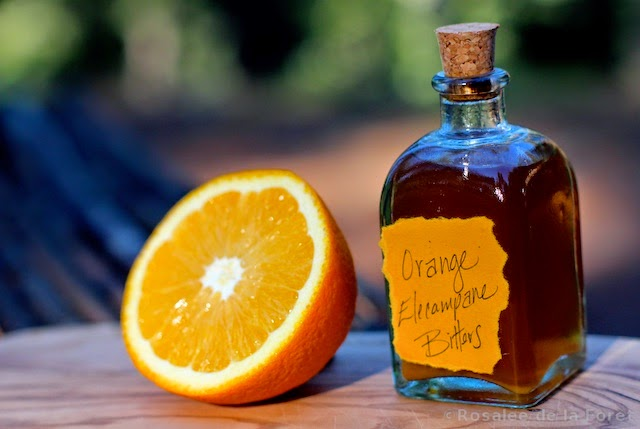 Orange elecampane Bitters recipe